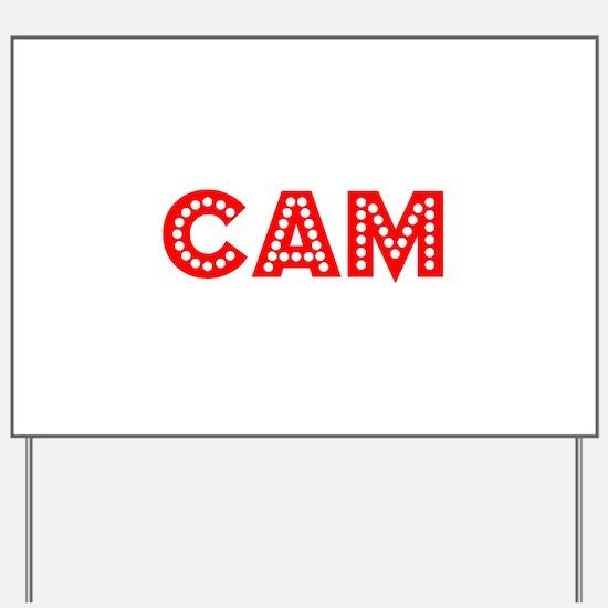 Retro Cam (Red) Yard Sign