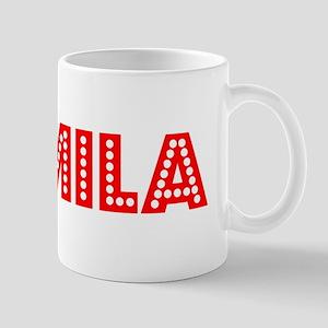 Retro Camila (Red) Mug