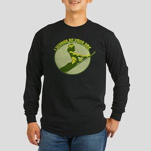 Pop Long Sleeve Dark T-Shirt