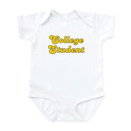 Retro College Stu.. (Gold) Infant Bodysuit