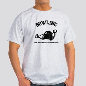 Bowling... beer excuse! Light T-Shirt