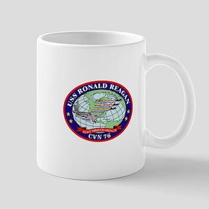 USS Ronald Reagan CVN-76 Mug