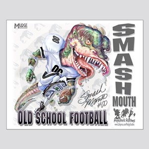 Smash Mouth Old School Football Small Poster