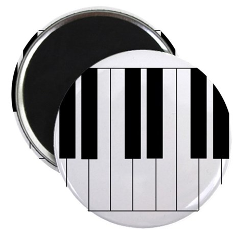 "Big Piano Keyboard 2.25"" Magnet (10 pack)"