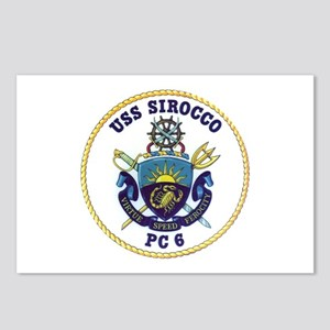 USS Sirocco PC-6 Postcards (Package of 8)