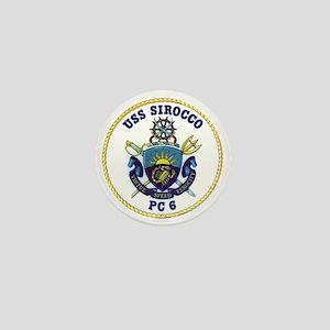 USS Sirocco PC-6 Mini Button