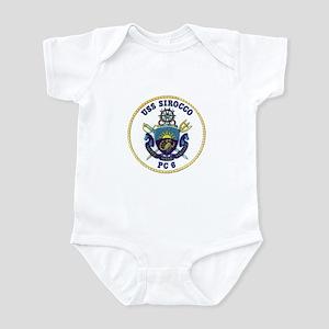 USS Sirocco PC-6 Infant Bodysuit