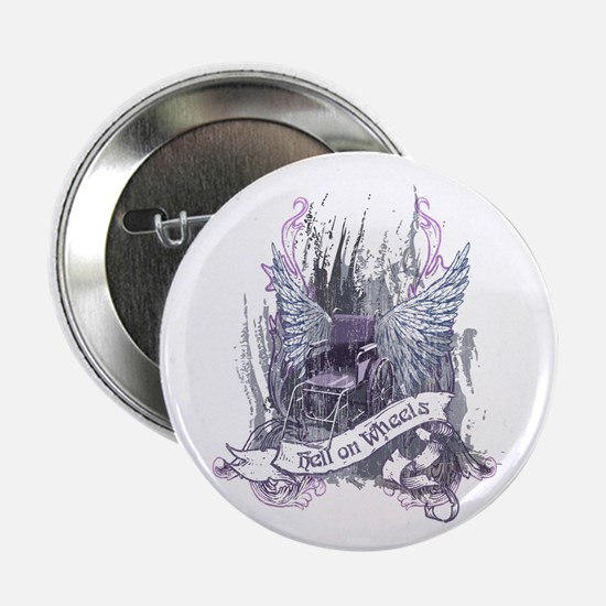"Hell on Wheels 2.25"" Button"