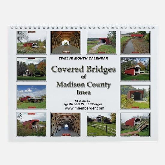 Covered Bridges Wall Calendar