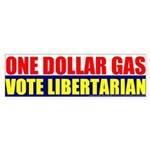 Rylla's Dollar Gas Bumper Sticker (10 pk)