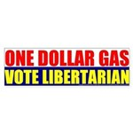 Rylla's Dollar Gas Bumper Sticker