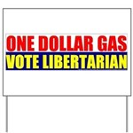 Rylla's Dollar Gas Yard Sign