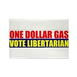 Rylla's Dollar Gas Rectangle Magnet (100 pack)