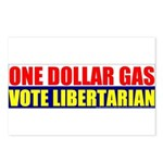 Rylla's Dollar Gas Postcards (Package of 8)