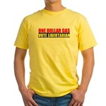 Rylla's Dollar Gas Yellow T-Shirt