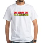 Rylla's Dollar Gas White T-Shirt