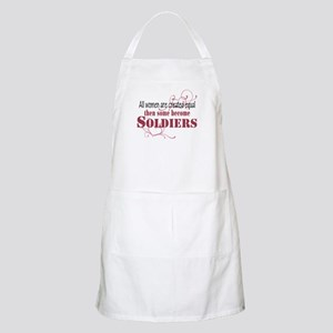 Female Soldiers Created Equal Apron