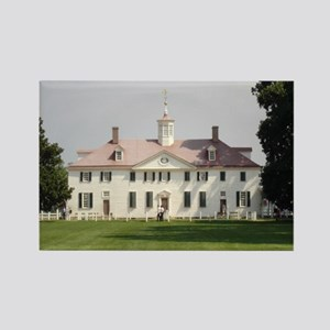 Mount Vernon Rectangle Magnet