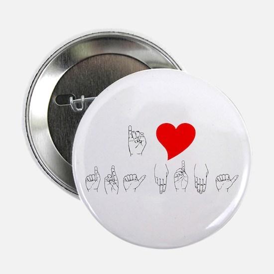 """I Heart Grandma 2.25"""" Button"""