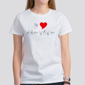 I Heart Grandma Women's T-Shirt