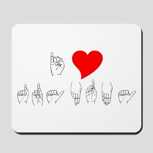 I Heart Grandma Mousepad