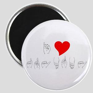 I Heart Grandma Magnet
