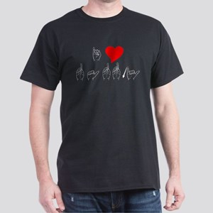 I Heart Daddy Dark T-Shirt