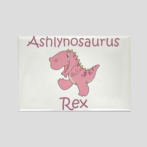 Ashlynosaurus Rex Rectangle Magnet