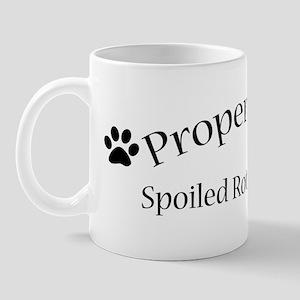 Spoiled Rotten Yorkie Mug