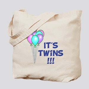 It's Twin Boys Tote Bag