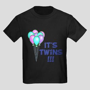 It's Twin Boys Kids Dark T-Shirt