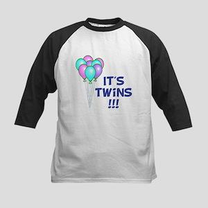 It's Twin Boys Kids Baseball Jersey
