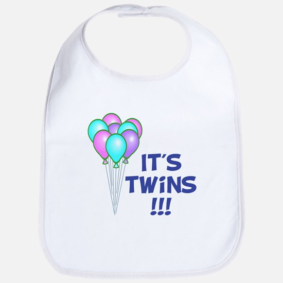 It's Twin Boys Bib