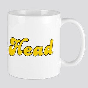 Retro Crack Head (Gold) Mug