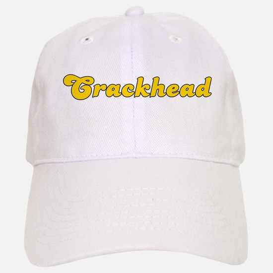 Retro Crackhead (Gold) Baseball Baseball Cap