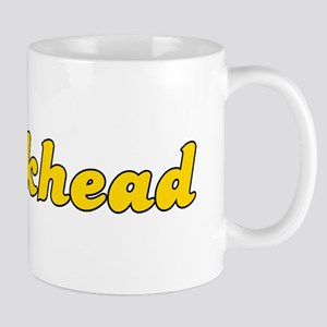 Retro Crackhead (Gold) Mug