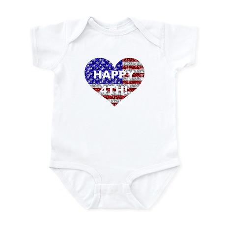 HAPPY 4TH Infant Bodysuit