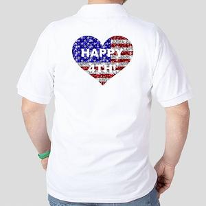 HAPPY 4TH Golf Shirt