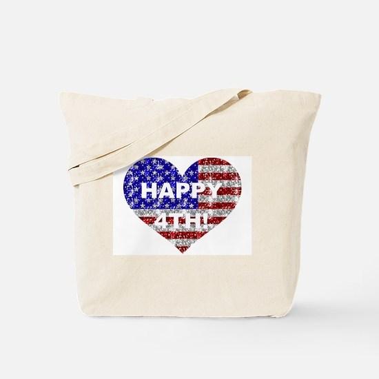 HAPPY 4TH Tote Bag