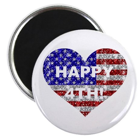 HAPPY 4TH Magnet