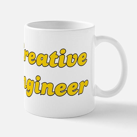 Retro Creative en.. (Gold) Mug