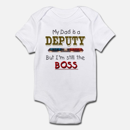 Dad is Deputy Infant Bodysuit