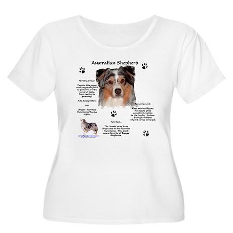 Aussie 1 Women's Plus Size Scoop Neck T-Shirt