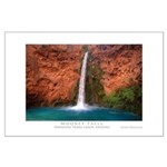 Mooney Falls and Pool Large Poster