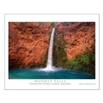Mooney Falls and Pool Small Poster
