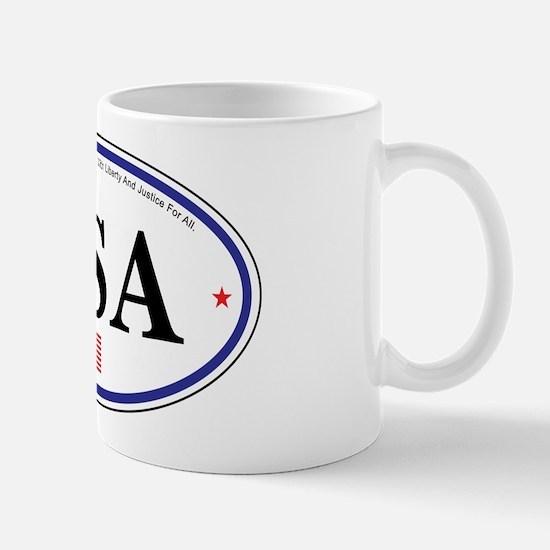 USA Emblem Mug