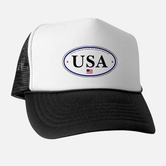 USA Emblem Trucker Hat