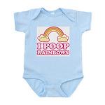 I POOP RAINBOWS - Infant Bodysuit