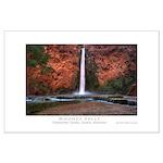 Mooney Falls Large Poster