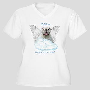 Bulldog 6 Women's Plus Size V-Neck T-Shirt